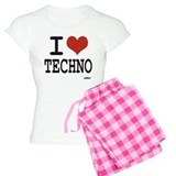 I love techno Pajamas