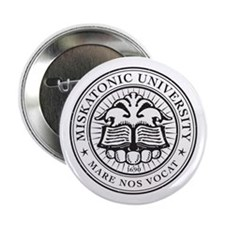 "Miskatonic Logo 2.25"" Button"
