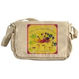 Cool Ballerina Messenger Bag