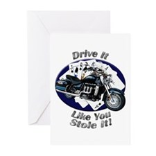 Triumph Rocket III Touring Greeting Cards (Pk of 1