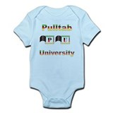 Pulltab University Infant Bodysuit