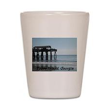 Tybee Island Georgia 17 Shot Glass