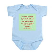 David Hilbert Infant Bodysuit