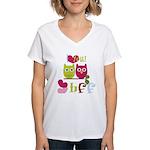 BFF Love Women's V-Neck T-Shirt