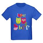 BFF Love Kids Dark T-Shirt
