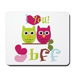 BFF Love Mousepad