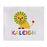 Kaleigh the Lion Throw Blanket