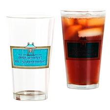 New York Sports Drinking Glass