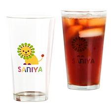 Saniya the Lion Drinking Glass