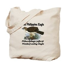 Philippine eagle Tote Bag