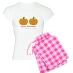 Pumpkins Happy Halloween Women's Light Pajamas