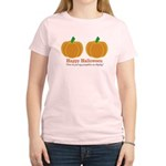 Pumpkins Happy Halloween Women's Light T-Shirt