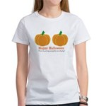 Pumpkins Happy Halloween Women's T-Shirt