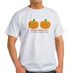 Pumpkins Happy Halloween Light T-Shirt