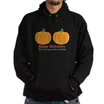 Pumpkins Happy Halloween Hoodie (dark)