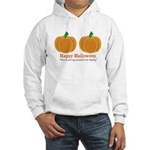 Pumpkins Happy Halloween Hooded Sweatshirt