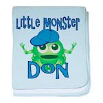 Little Monster Don baby blanket