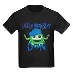 Little Monster Don Kids Dark T-Shirt