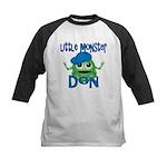 Little Monster Don Kids Baseball Jersey