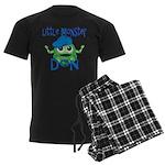 Little Monster Don Men's Dark Pajamas