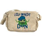 Little Monster Don Messenger Bag