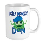 Little Monster Don Large Mug