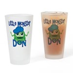 Little Monster Don Drinking Glass