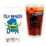 Little Monster Don Drinking Glass