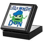 Little Monster Don Keepsake Box