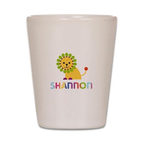 Shannon the Lion Shot Glass