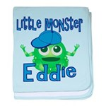Little Monster Eddie baby blanket