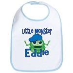 Little Monster Eddie Bib