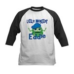 Little Monster Eddie Kids Baseball Jersey