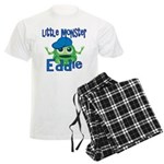 Little Monster Eddie Men's Light Pajamas