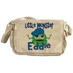 Little Monster Eddie Messenger Bag
