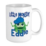 Little Monster Eddie Large Mug