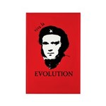 Red Darwin. Viva! Rectangle Magnet (100 pack)