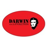 Red Darwin. Viva! Sticker (Oval 50 pk)