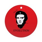 Red Darwin. Viva! Ornament (Round)