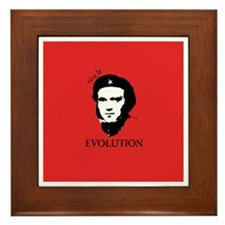 Red Darwin. Viva! Framed Tile