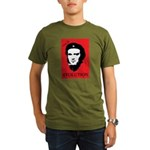 Red Darwin. Viva! Organic Men's T-Shirt (dark)