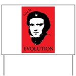 Red Darwin. Viva! Yard Sign