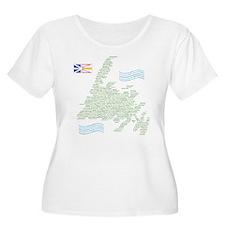 Newfoundland Towns T-Shirt