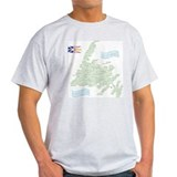 Newfoundland Towns T-Shirt