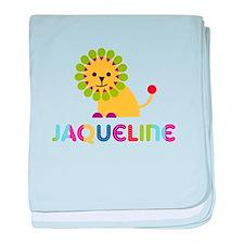 Jaqueline the Lion baby blanket