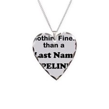 Personalized Nothin Finer Necklace