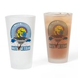 CVN-69 Persian Gulf Drinking Glass