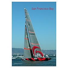 Large Sail Boat in SF Bay