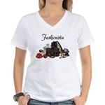 Fashionista Women's V-Neck T-Shirt