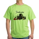 Fashionista Green T-Shirt